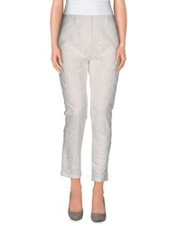 Aimo Richly Casual Pants Ivory