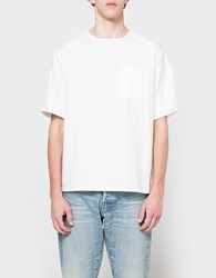 3.1 Phillip Lim Ss Box Cut T Shirt White