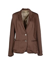 Momoni Momoni Suits And Jackets Blazers Women Cocoa
