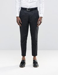 Selected Wedding Cotton Linen Suit Trousers Black