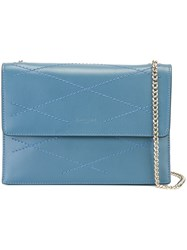 Lanvin 'Sugar' Shoulder Bag Blue