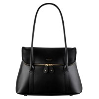 Radley Taplow Large Leather Shoulder Bag Black