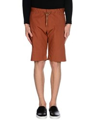 Hilton Trousers Bermuda Shorts Men Brown