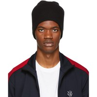 Rag And Bone Black Cashmere Ace Beanie