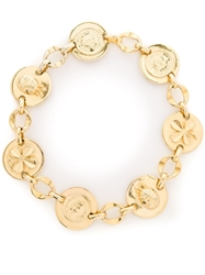 Chanel Vintage Coco Chanel Lucky Necklace Metallic