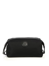 Dunhill Guardsman Leather Trimmed Dopp Kit Black