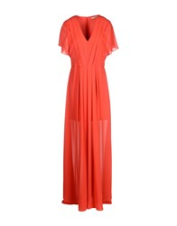 Hope Collection Long Dresses Red