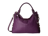 Jessica Simpson Mara Crossbody Tote Eggplant Satchel Handbags Purple