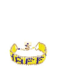 Rosantica By Michela Panero Happy Beaded Bracelet Yellow