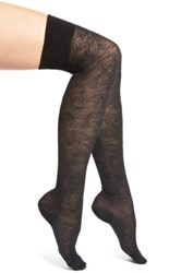 Falke 'Grace' Over The Knee Socks Gray