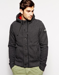Abercrombie And Fitch Sweat With Hood And Double Lining Grey