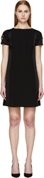 Versus Black Signature Safety Pin Dress