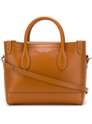 Ralph Lauren Mini Classic Tote Bag Brown
