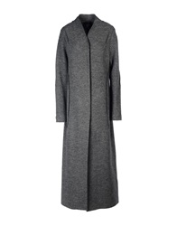 Crea Concept Full Length Jackets Grey