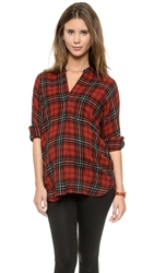 Hatch The Hudson Shirt Red Plaid