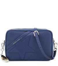 Golden Goose Star Leather Shoulder Bag Blue