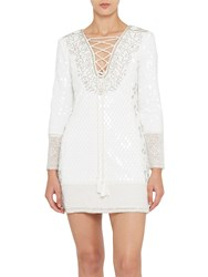 French Connection Mumtaz Strappy Dress Winter White