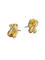 Kate Spade Sailor's Knot Stud Earrings Goldtone