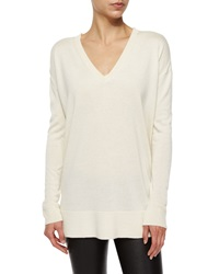 The Row Amherst Knit V Neck Sweater