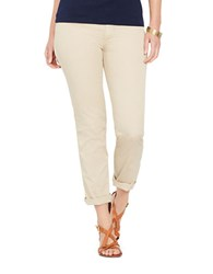 Lauren Ralph Lauren Plus Rolled Cuff Chino Pants Stone