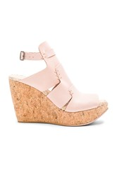 Free People Vachetta Rose Wedge Blush