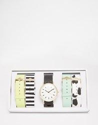 Aldo Frangipane Multi Strap Watch Multi