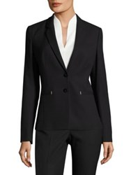 Boss Jimondi Stretch Virgin Wool Blazer Black