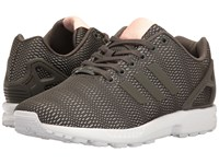 Adidas Zx Flux 3 Utility Grey Utility Grey Footwear White Women's Running Shoes Gray