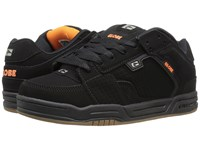 Globe Scribe Black Black Orange Men's Skate Shoes