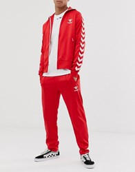 Hummel Track Pants Red