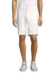 J. Lindeberg Eloy Regular Fit Micro Stretch Shorts White