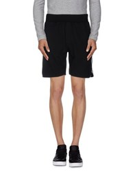 Dirk Bikkembergs Sport Couture Trousers Bermuda Shorts Men Black
