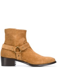Raparo Ankle Boots Brown