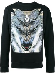 Marcelo Burlon County Of Milan Wolf Print T Shirt Black