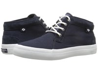 Sperry Crest Knoll Canvas Navy Women's Lace Up Casual Shoes