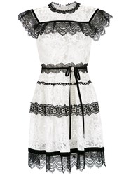 Martha Medeiros Pitty Lace Dress White