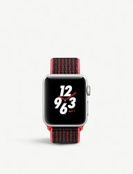 Apple Series 3 Watch Nike 38 Silver Aluminium Bright Crimson