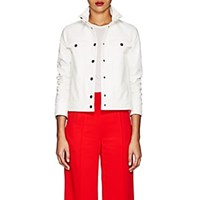 Lisa Perry Snazzy Vinyl Jacket White