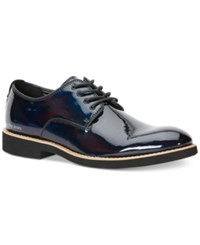 Calvin Klein Jeans Chaz Iridescent Patent Leather Oxfords Men's Shoes