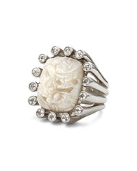 Stephen Dweck White Topaz Ring