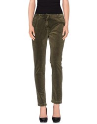Massimo Alba Trousers Casual Trousers Women Military Green