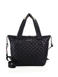 M Z Wallace Oxford Quilted Tote Black