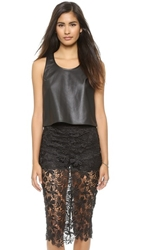 Madison Marcus Dee Sleeveless Top Black