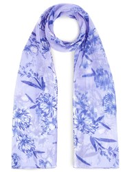 Eastex Wisteria Floral Scarf