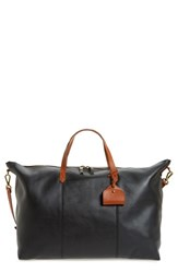 Madewell 'Transport' Weekend Bag Black True Black W Brown