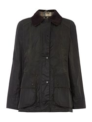 Barbour Beadnell Waxed Jacket Sage