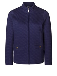 Dash Quilted Jersey Jacket Purple