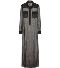 Tomas Maier Long Shirt Dress Black