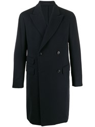 Z Zegna Mid Length Double Breasted Coat 60