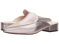 Cole Haan Piper Mule Pink Glitter Metallic Shoes Pewter